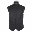 Gilet de costume cintré Selected, Noir