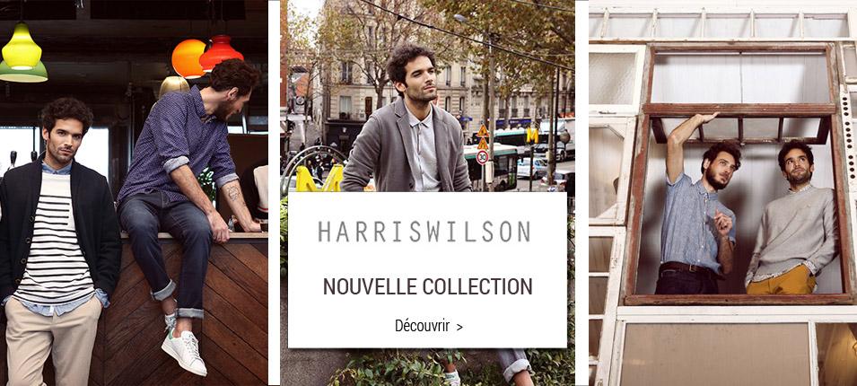 Nouvelle collection Harris Wilson homme