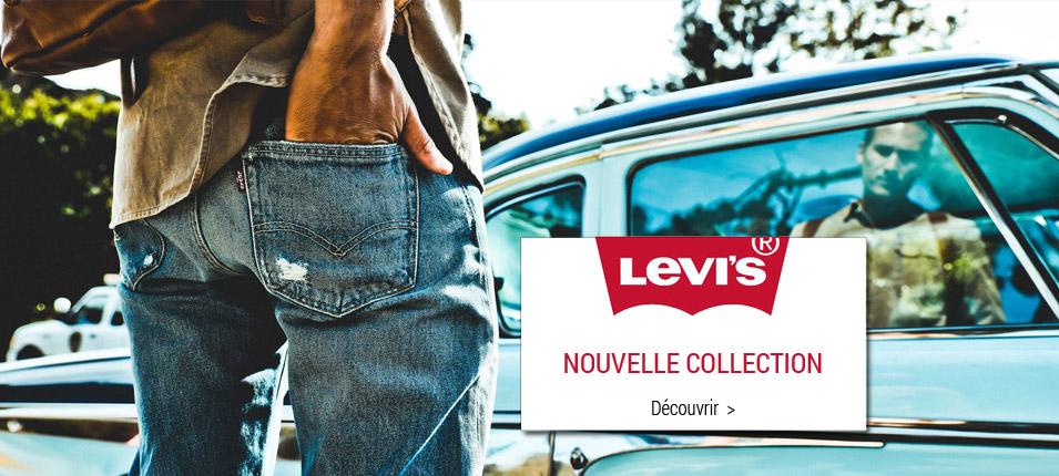 Nouvelle collection Levi's homme