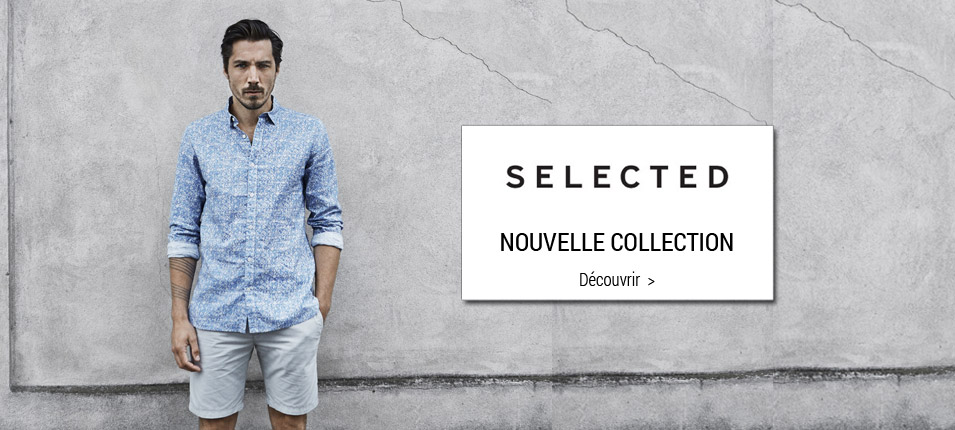 Nouvelle collection Selected homme