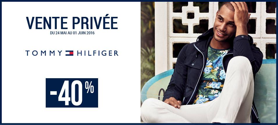 Vente Privée Tommy Hilfiger : -40% sur la sélection