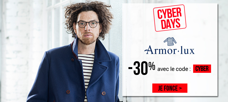 Cyber days Armor lux à -30%