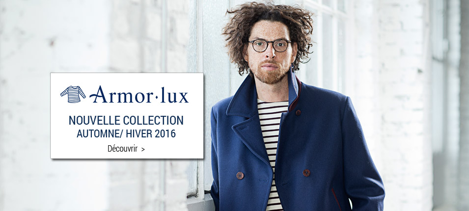 Nouvelle collection homme Armor lux