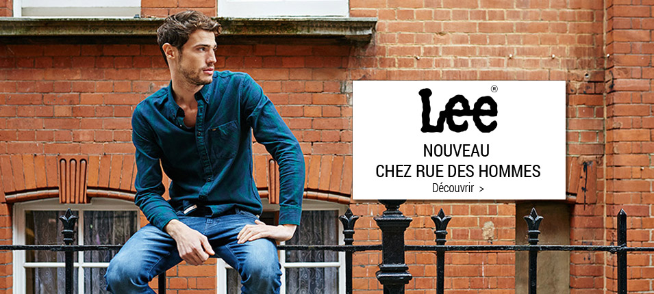 Nouvelle collection homme Lee