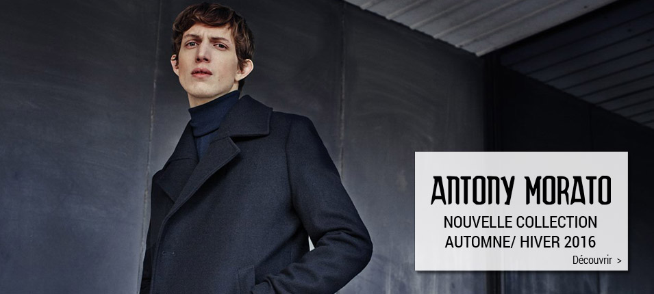 Nouvelle collection homme Antony Morato