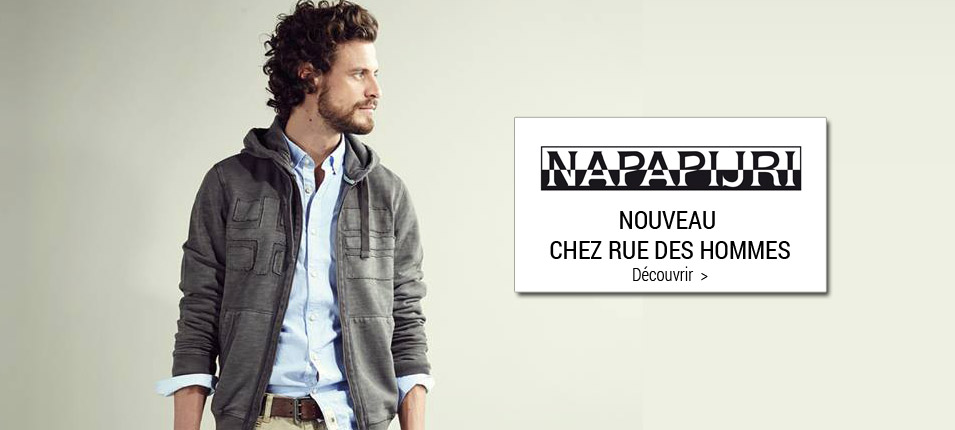 Nouvelle collection homme Napapijri