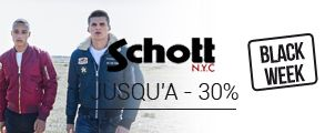 Nouvelle collection homme Schott N.Y.C