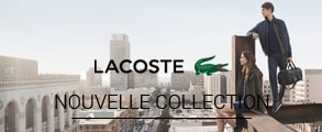 Nouvelle collection homme Lacoste