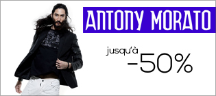 Antony Morato jusqu'à -50%