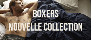 Nouvelle collection homme boxers