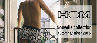 Nouvelle collection homme HOM