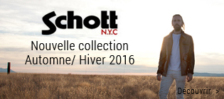 Nouvelle collection homme Schott NYC