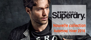 Nouvelle collection homme Superdry