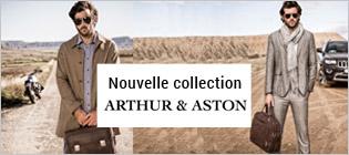 Nouvelle collection maroquinerie Arthur & Aston
