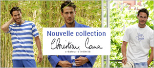 Nouvelle collection Christian Cane homme