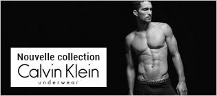 Nouvelle collection Calvin Klein underwear