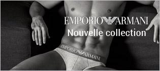 Nouvelle collection Emporio Armani homme