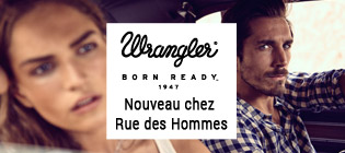 Nouvelle collection Wrangler homme